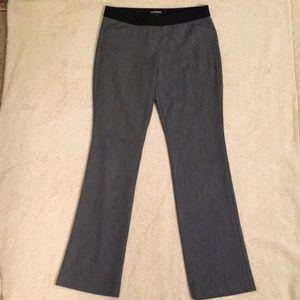 Express Editor Grey Dress Pants